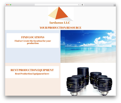 WordPress theme RentIt - iardanus.com