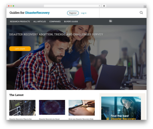 Guides for CRM Wordpress Theme WP theme - guidesfordisasterrecovery.com
