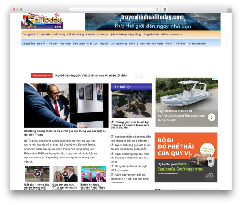 Newspaper WordPress news template - calitoday.com