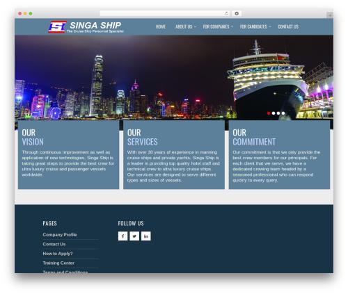WordPress theme Bulan - singaship.ph