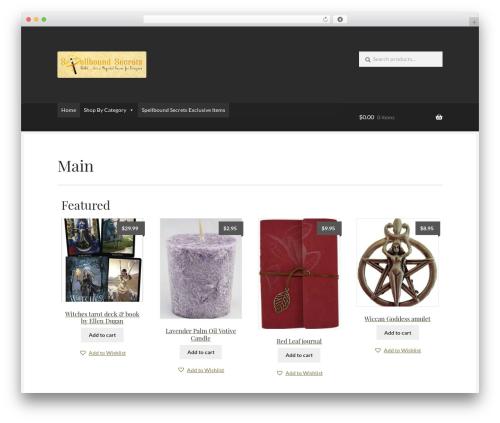 Free WordPress Daisy Store Companion plugin - spellboundsecrets.com