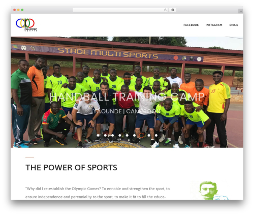 FitPress best WordPress template - paulopansports.com