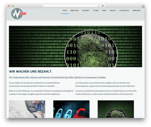 Theme WordPress Sciencex Lite - wirtschaftssicherheit.com