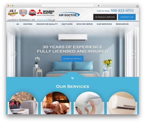 WordPress theme HVAC Child V1 - airdoctorinc.com