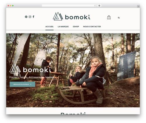 Bazaar theme WordPress - bomoki.com