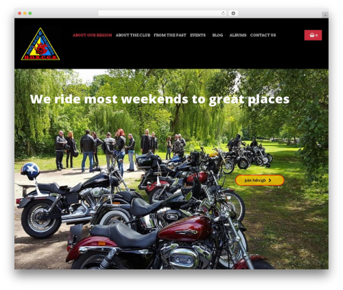 Bikersclub best WordPress theme - region29.org