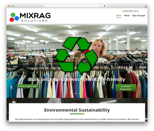 Client Theme theme WordPress - mixrag.com