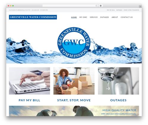 Mint WordPress page template - gwctn.org