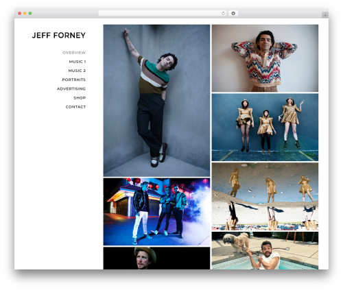 Movedo WP theme - jeffforney.com