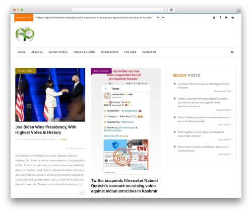 NewsMagbd WordPress news template - affairspakistan.com