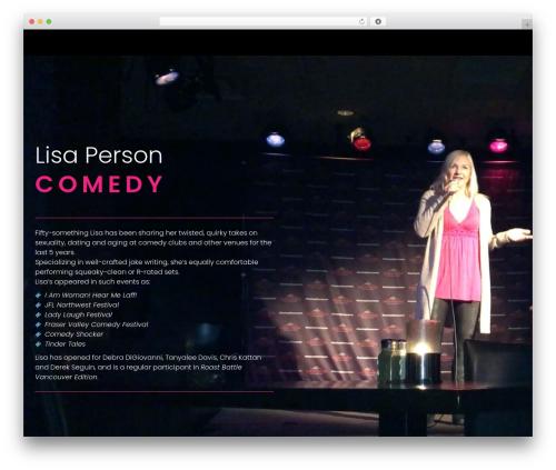 Phlox free WordPress theme - lisaperson.com