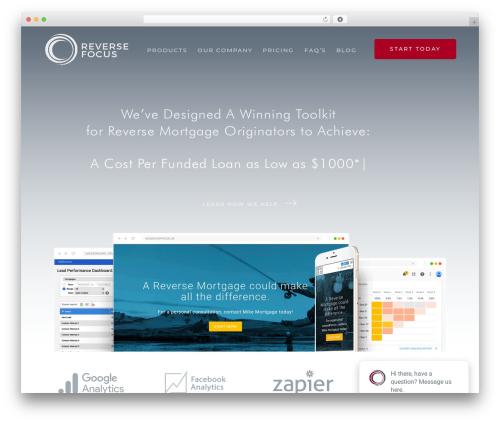 Theme WordPress Nanosoft - reversefocus.com