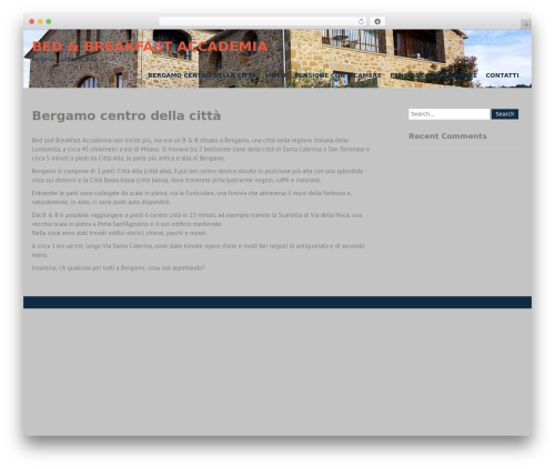 WP template Campus Lite - bedbreakfastaccademia.it