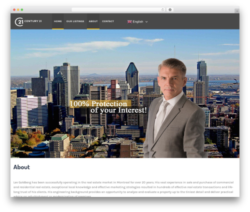 ApusHome real estate template WordPress - propertiesmontreal.com