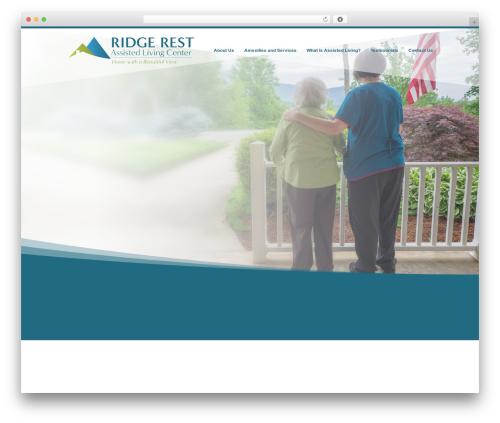 Divi WordPress website template - ridgerest.com