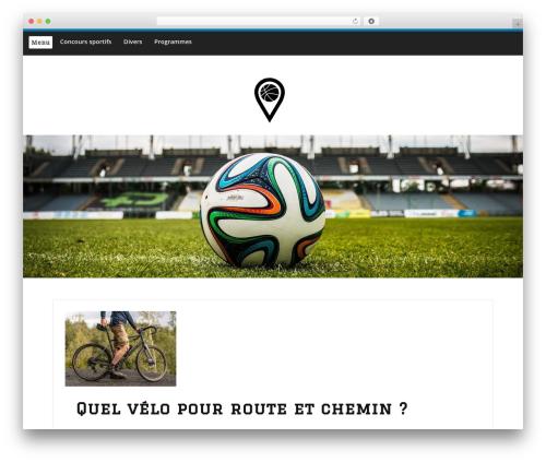 Embla premium WordPress theme - sportpedia.fr