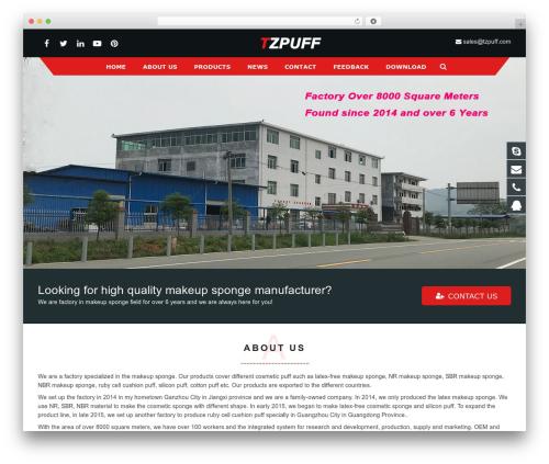 sohowp WP theme - tzpuff.com