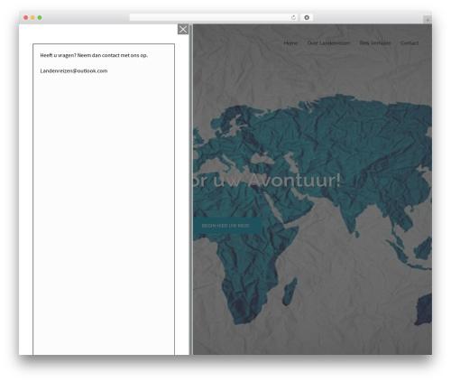 Sydney free WordPress theme - landenreizen.nl