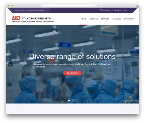 Advisor medical WordPress theme - lkdmultiindustri.com
