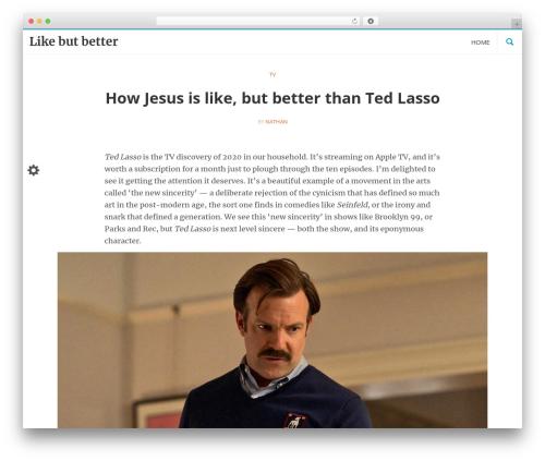 Best WordPress theme LongformPRO - likebutbetter.com