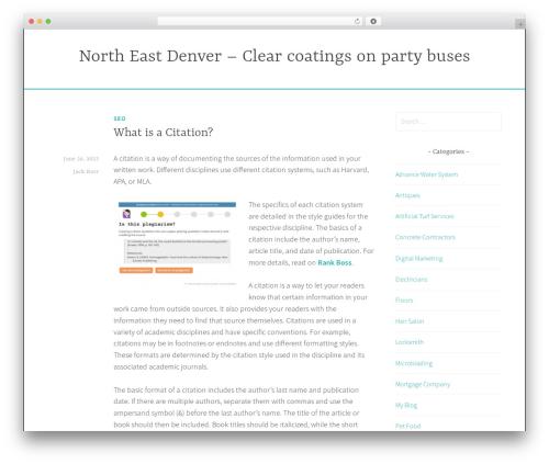 Dara theme WordPress free - northeastcoatings.net