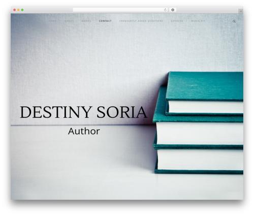 Rayko WordPress theme - destinysoria.com