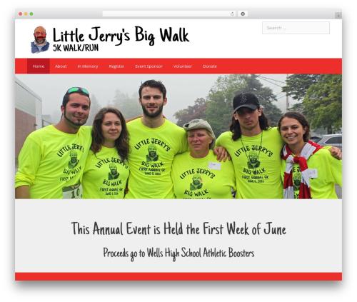 Theme WordPress GeneratePress - littlejerrysbigwalk.com