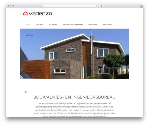 Dessau WordPress theme - vadenzo.com