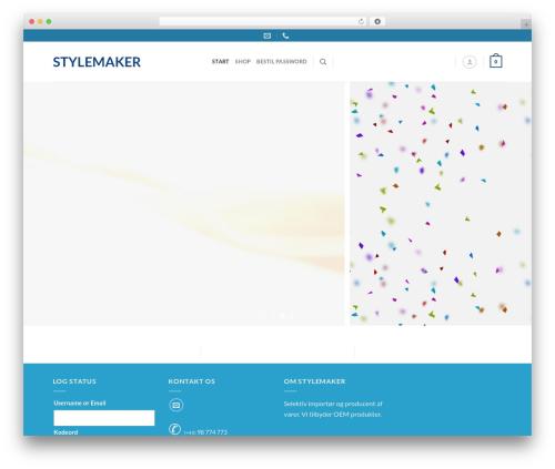 Flatsome WordPress theme - stylemaker.dk