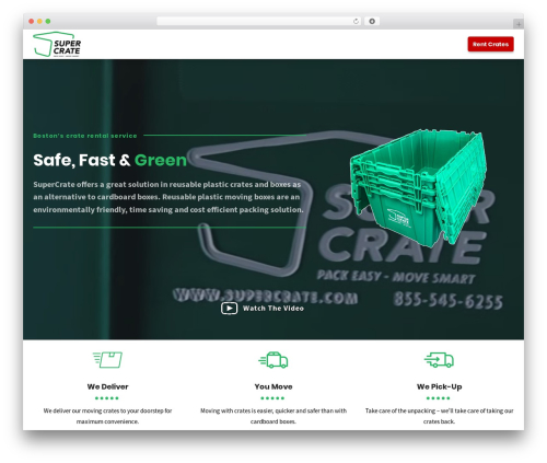 Shopscape top WordPress theme - supercrate.com