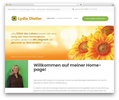 Theme WordPress counselor - lydia-distler.com