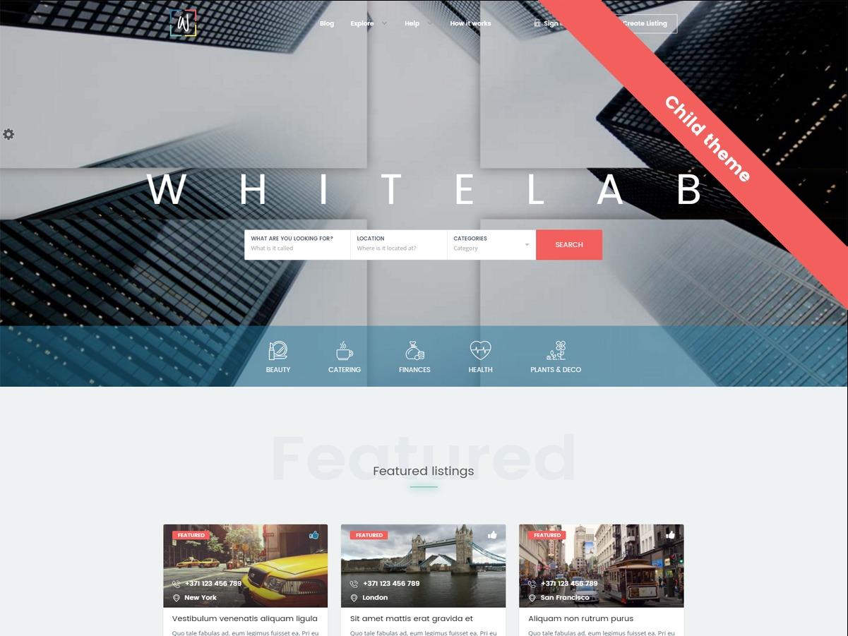 WordPress template Filmestonia