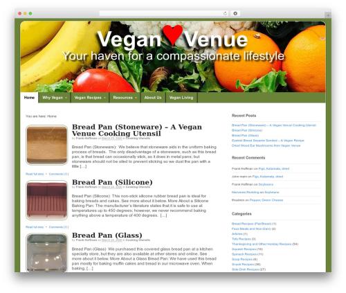 Free WordPress Simple Table of Content plugin - veganvenue.org