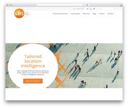 GBS business WordPress theme - gbs.kiwi