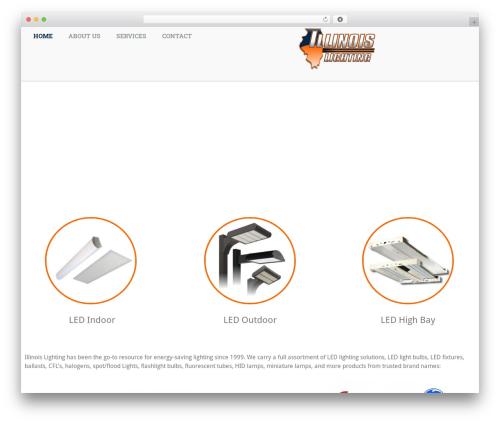 GeneratePress free WP theme - illinoislighting.com