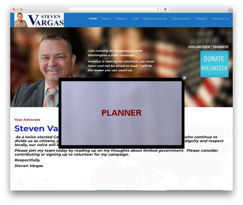 Politist WordPress theme - stevevargas.com