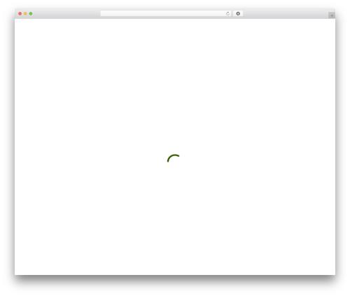 Salient theme WordPress - tifft.org