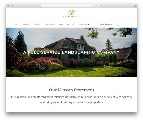 VW Gardening Landscaping landscaping WordPress theme - csilandscape.com