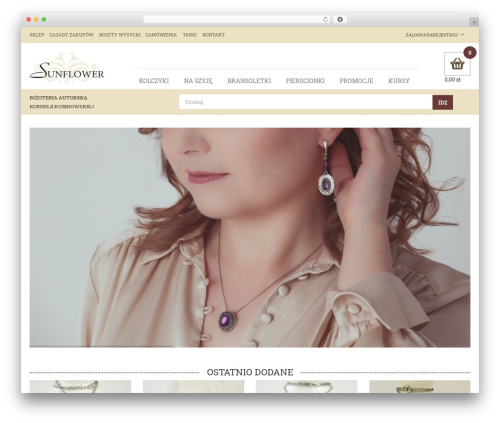 Best WordPress template Rémy - sunflowerart.pl