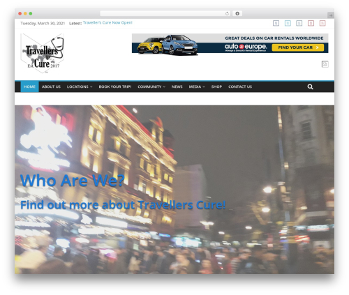 ColorMag WordPress theme download - travellerscure.com