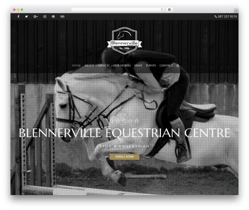 HorseClub WordPress theme - blennervilleequestriancentre.com