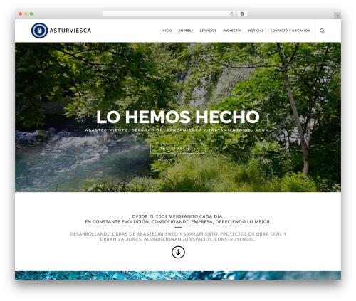 Movedo theme WordPress - asturviesca.es