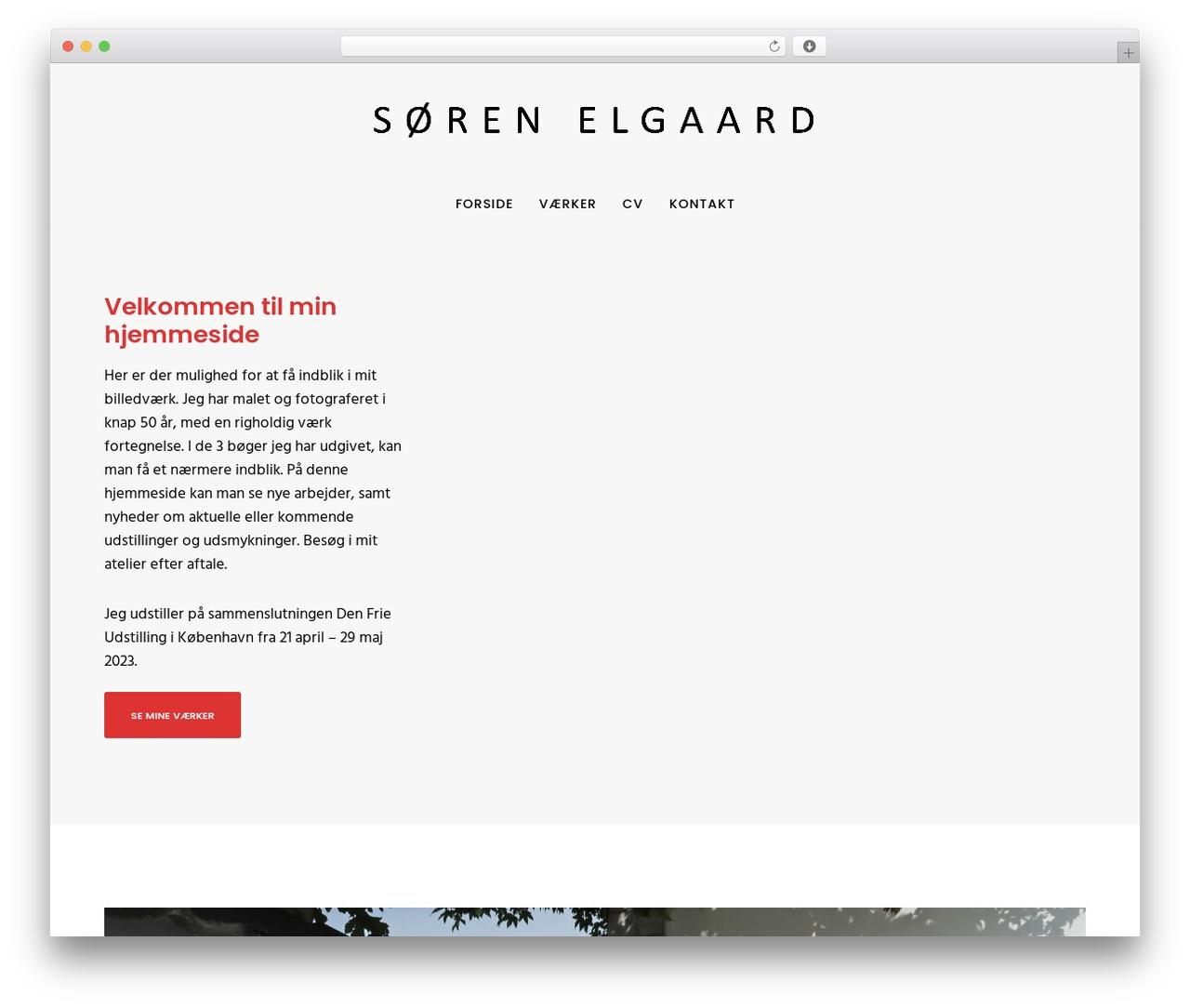 Movedo top WordPress theme - sorenelgaard.dk