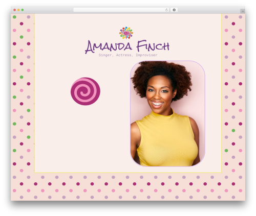 Orao best WordPress template - amanda-finch.com