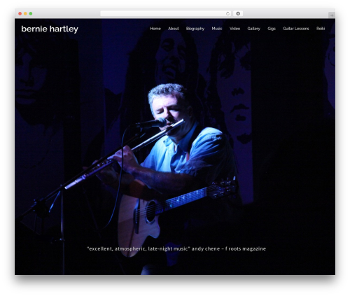 Sydney WordPress free download - berniehartley.com