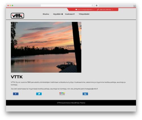 TC E-Commerce Shop theme WordPress free - vttk.fi