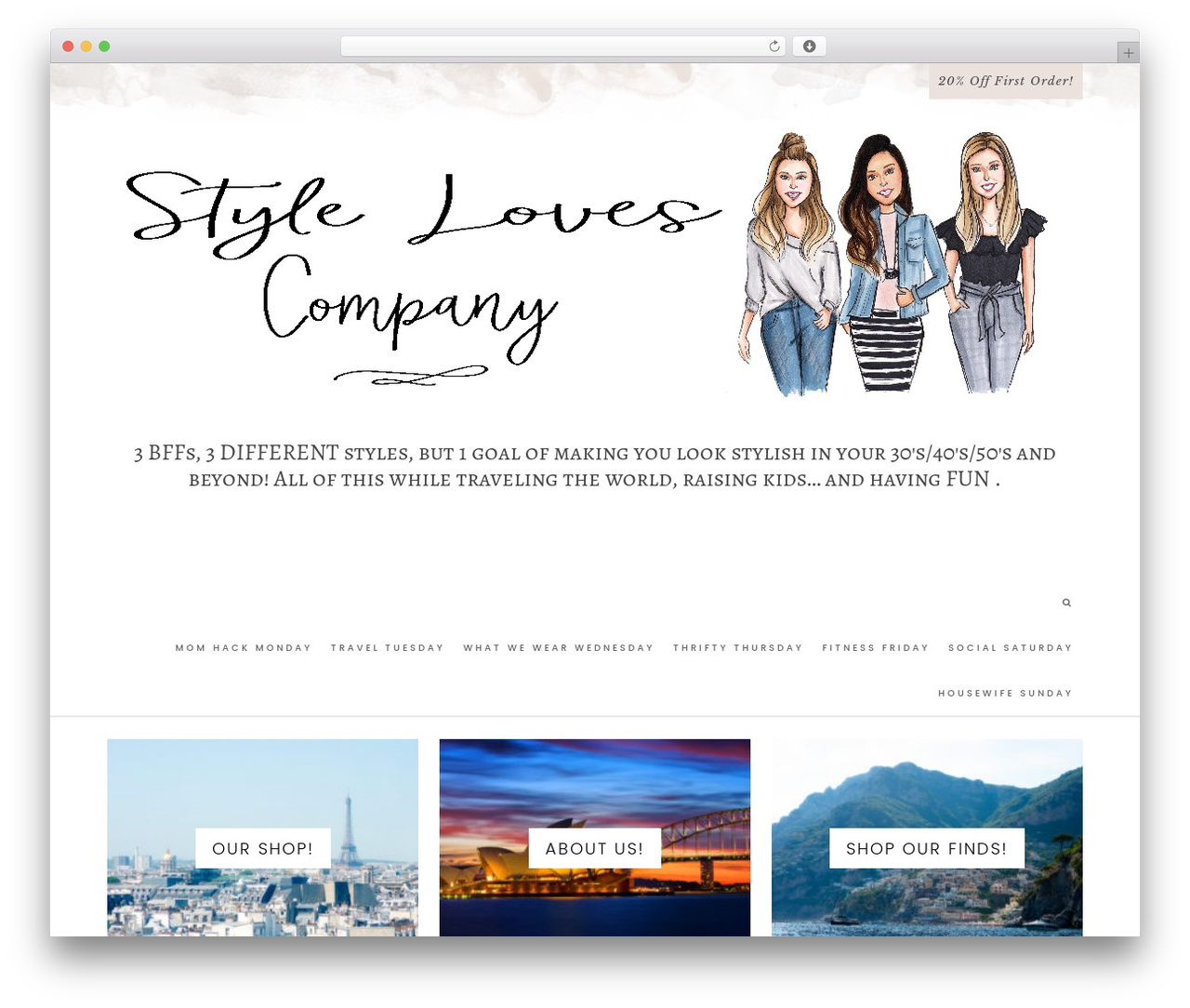 Hallie - Premium WordPress travel theme - stylelovescompany.com