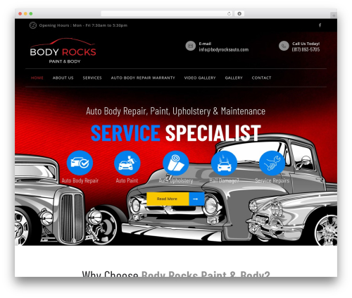 Mechi best WordPress theme - bodyrocksauto.com