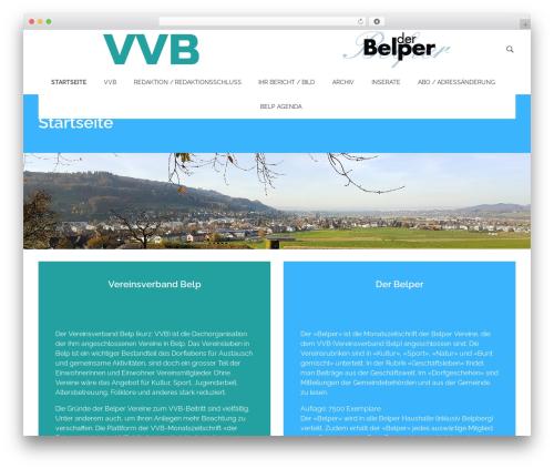 Phlox free WP theme - derbelper.ch