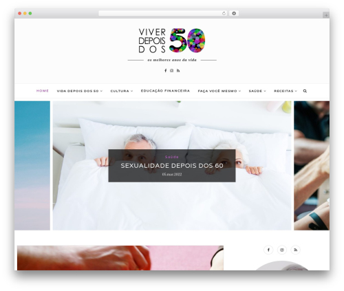 soledad child premium WordPress theme - viverdepoisdos50.com